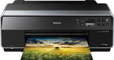 Принтер Epson Stylus Photo R3000 - фронтальный вид