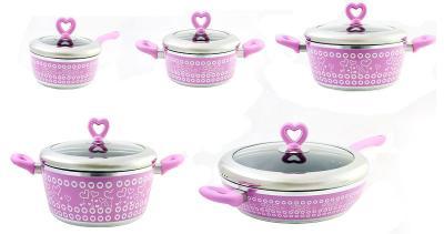 Набор кухонной посуды SSenzo PTXT6310EP84 - общий вид