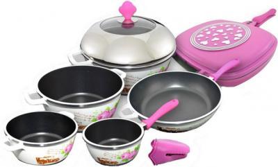 Набор кухонной посуды SSenzo PTXTDC6314DP25 - общий вид