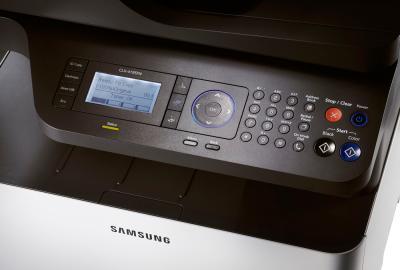 МФУ Samsung CLX-4195FN - панель управления