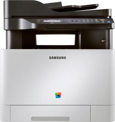 МФУ Samsung CLX-4195FN - фронтальный вид
