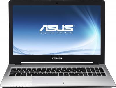 Ноутбук Asus K56CB (90NB0151-M03340) - фронтальный вид