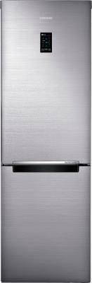 Холодильник с морозильником Samsung RB32FERNCSS/WT - вид спереди