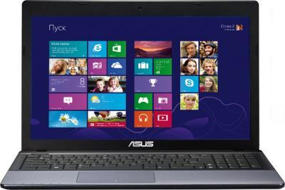 Ноутбук Asus X55VD (90N5OC118W2D376043AU) - фронтальный вид