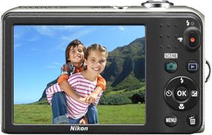 Компактный фотоаппарат Nikon Coolpix L28 Silver - вид сзади