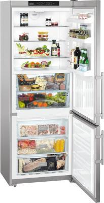 Холодильник с морозильником Liebherr CBNesf 5133 - общий вид