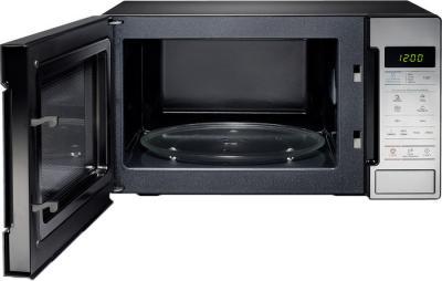 Микроволновая печь Samsung ME83MR/BWT - с открытой дверцей