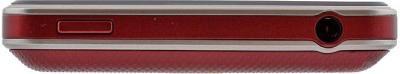 Мобильный телефон LG T375 Cookie Smart Red (Wine Red) - вид сверху