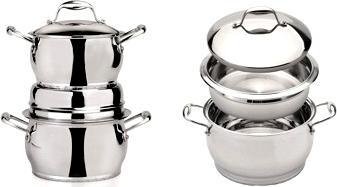 Набор кухонной посуды BergHOFF Zeno 1111002 - кастрюли