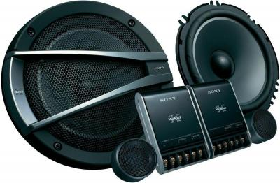Компонентная АС Sony XS-GTX1622S - общий вид