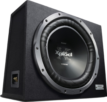 Корпусной пассивный сабвуфер Sony XS-GTX150LE - общий вид
