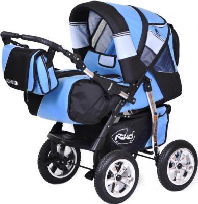 Детская универсальная коляска Riko Master (Neon Blue) - общий вид
