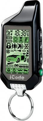 Автосигнализация iCode 05RS - брелок с двусторонней связью