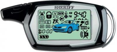 Автосигнализация Sheriff ZX-1090 - брелок с двусторонней связью