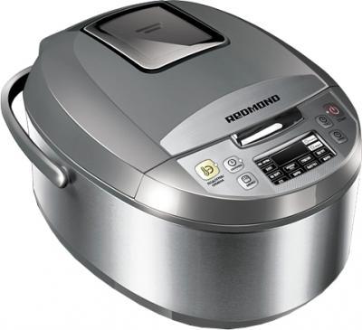 Мультиварка Redmond RMC-M4500 (серый) - общий вид