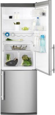 Холодильник с морозильником Electrolux EN3601AOX - общий вид