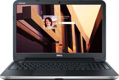 Ноутбук Dell Vostro (2521) 272211993 (11198515) Black - фронтальный вид