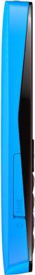 Мобильный телефон Nokia Asha 205 Cyan Dark Rose - вид сбоку