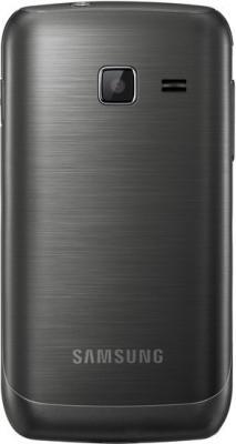 Смартфон Samsung S5380 Wave Y Sand Silver - вид сзади