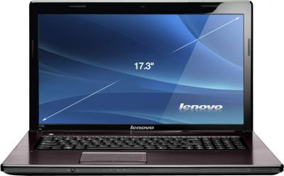 Ноутбук Lenovo G780 (59360034) - фронтальный вид