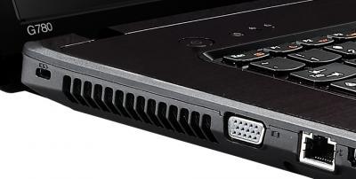 Ноутбук Lenovo G780 (59360034) - разъемы