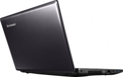 Ноутбук Lenovo Z585A (59352533) - вид сзади