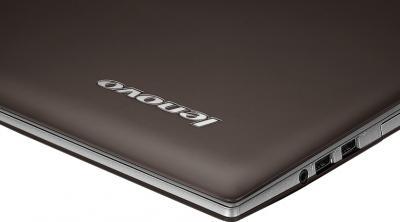 Ноутбук Lenovo Z500A (59359766) - логотип на крышке