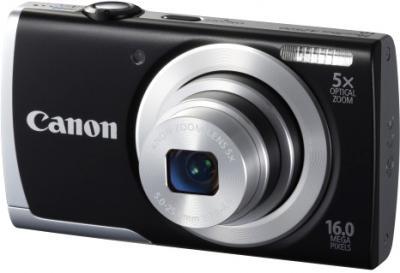 Компактный фотоаппарат Canon PowerShot A2500 Black - общий вид