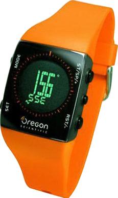 Многофункциональные часы Oregon Scientific RA122 Orange - общий вид
