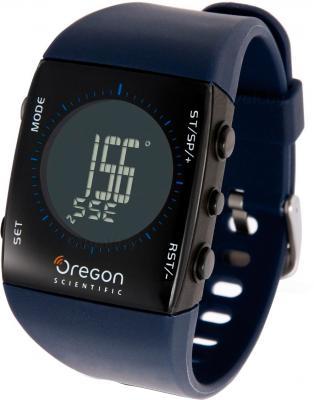 Многофункциональные часы Oregon Scientific RA122 Blue - общий вид