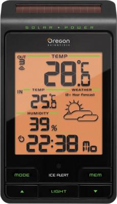 Метеостанция цифровая Oregon Scientific BAR806 - вид спереди