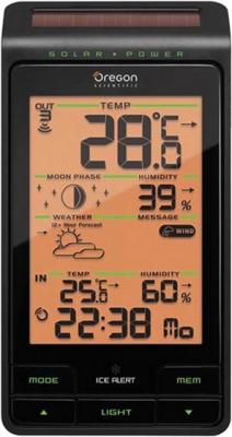 Метеостанция цифровая Oregon Scientific BAR808HG - общий вид