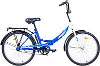Велосипед Aist Smart 24 1.0 (синий/белый) -