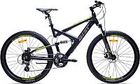 Велосипед Aist Dakar Disc (18, черный/желтый) -