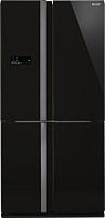 Холодильник с морозильником Sharp SJ-FJ97VBK -