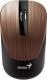 Мышь Genius NX-7015 WL (шоколад) -