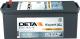 Автомобильный аккумулятор Deta HVR Pro DE1403 (140 А/ч) -