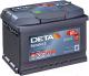 Автомобильный аккумулятор Deta Senator3 DA612 (61 А/ч) -