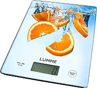 Кухонные весы Lumme LU-1340 (апельсиновый фреш) -