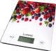 Кухонные весы Lumme LU-1340 (лесная ягода) -