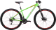 Велосипед Format 1113 (S, зеленый/красный матовый) -