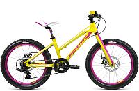 Велосипед Format 7423 2017 Girl (зеленый матовый) -