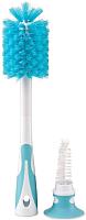 Набор ершиков для бутылочек Happy Baby Bottle Nipple Brush 11009 (голубой) -