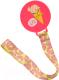 Держатель для пустышки Happy Baby Pacifier Holder 11011 (розовый) -