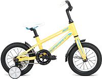 Детский велосипед Format Kids Girl 2017 (12, желтый) -