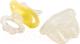 Прорезыватель для зубов Happy Baby 20000 с колпачком (желтый) -