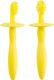 Набор зубных щеток детский Happy Baby Tooth Brushes 20017 (желтый) -