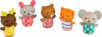 Игровой набор для ванны Happy Baby Little Friends 32024 -