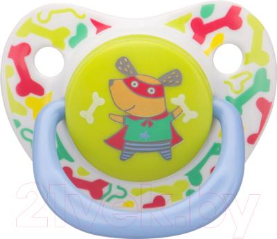 Пустышка Happy Baby Baby Soother 13012 (пес)