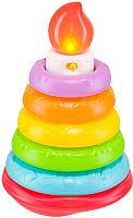 Развивающая игрушка Happy Baby Пирамидка Happy Cake 330080 -